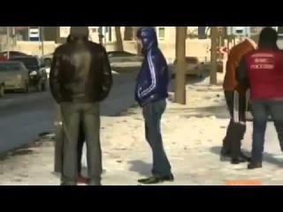 Заявление чурки на русской земле путин мы тебе яйца отрежем)