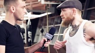 Большое интервью Конора Макгрегора перед боем против Хабиба на UFC 229 [NR]