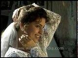 Juhi Chawla on the sets of Hindi film Daraar