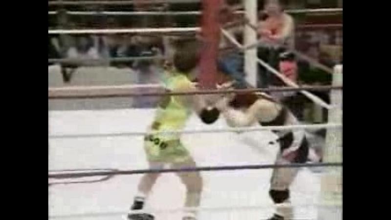 Bolshoi Kid, Hiromi Yagi vs. Sumiyo Toyama, Hiromi Sugo (1995/5/16)