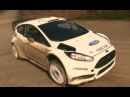 Elfyn Evans Test Rallye Deutschland 2014 Ford Fiesta RS WRC