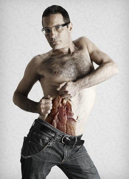 Реалистичные рисунки на теле