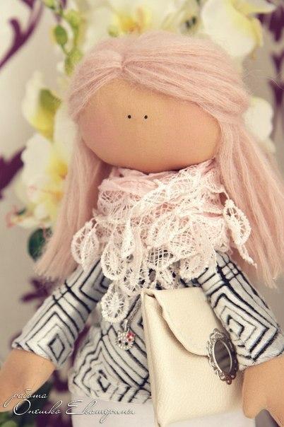 Шьём куколку. Выкройка. (6 фото) - картинка