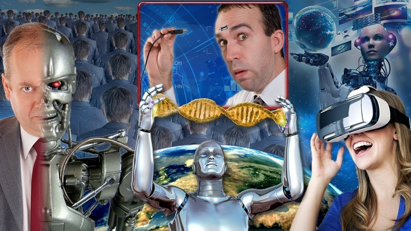 Альцион Плеяды 34-2 (С АУДИО) Человеческие клоны, роботы, и совершенные синтетические люди