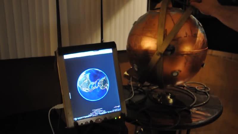 Steampunk RFID Globe