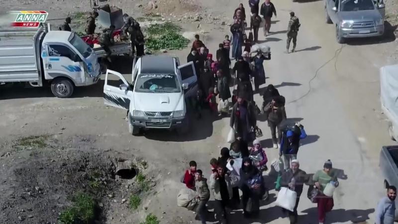 [Syria] Eastern Ghouta. Liberation of Hamuria _ Восточная Гута. Освобождение Хамурии