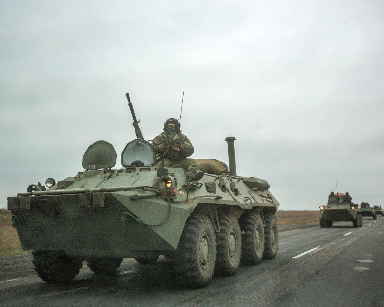СМИ сообщили о пересечении украинской границы в Ростовской области российской бронетехникой
