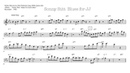 Killing Blues Solo- Sonny Stitt sax Transcription tenor sax Free download