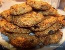 Диетическое овсяное печенье с яблоком и ананасом