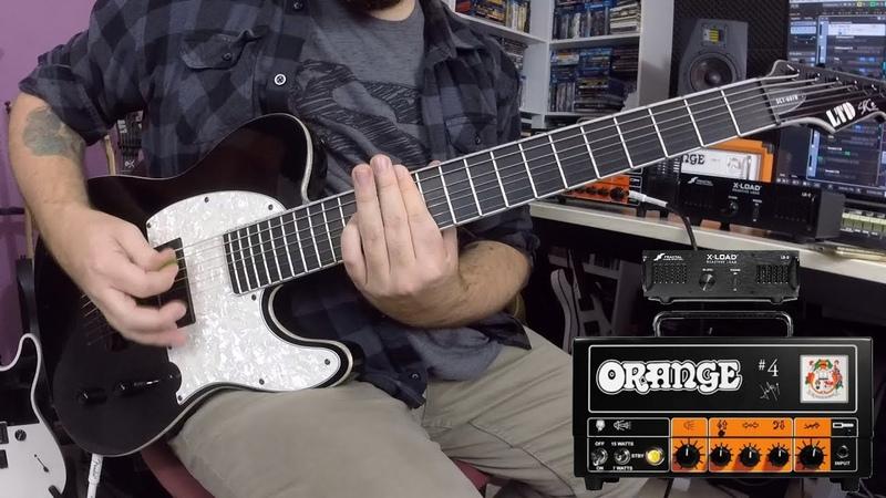 Orange Jim Root 4 Terror demo! (LTD SCT-607b, SSD5 OH 412 ORN M25)