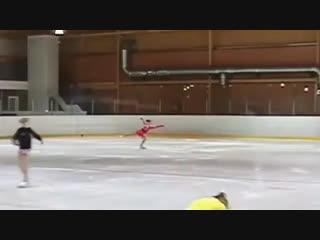 Sofia Samodelkina (RUS) 11 y. o. - 3A
