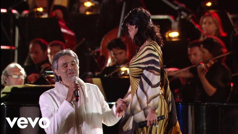 Andrea Bocelli, Laura Pausini - Dare To Live (HD) ft. Laura Pausini