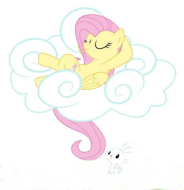 Мой Маленький Пони Флаттершай и Зайка