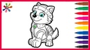 PAW Patrol Coloring books for патруль