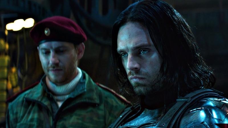 Желание Ржавый Семнадцать Гидра размораживает Зимнего солдата Первый мститель Противостояние