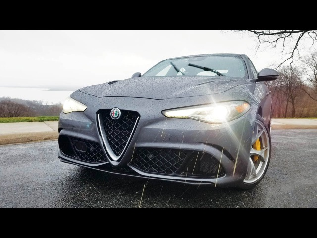 2017 Alfa Romeo Giulia Quadrifoglio: соскучились?..