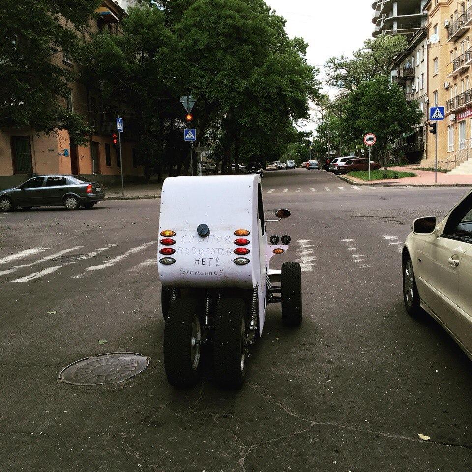 Свехрлегкий электромобиль