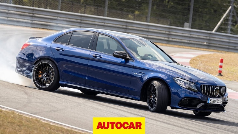 2019 Mercedes AMG C63 S driven 503bhp 4 0 litre V8 on track Autocar