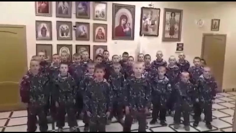 Чтобы русский дух, не потух, Чтобы русский глас,не угас, Чтобы наша Русь поднялась, молюсь