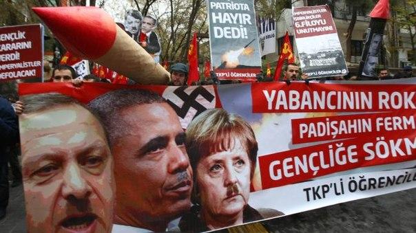 Студенческие протесты, Турция