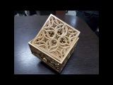 Шкатулка в готическом стиле на станке ЧПУ/ Gothic wooden box