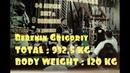 Grigoriy Bebenin powerlifting total 932 5kg 08 04 17