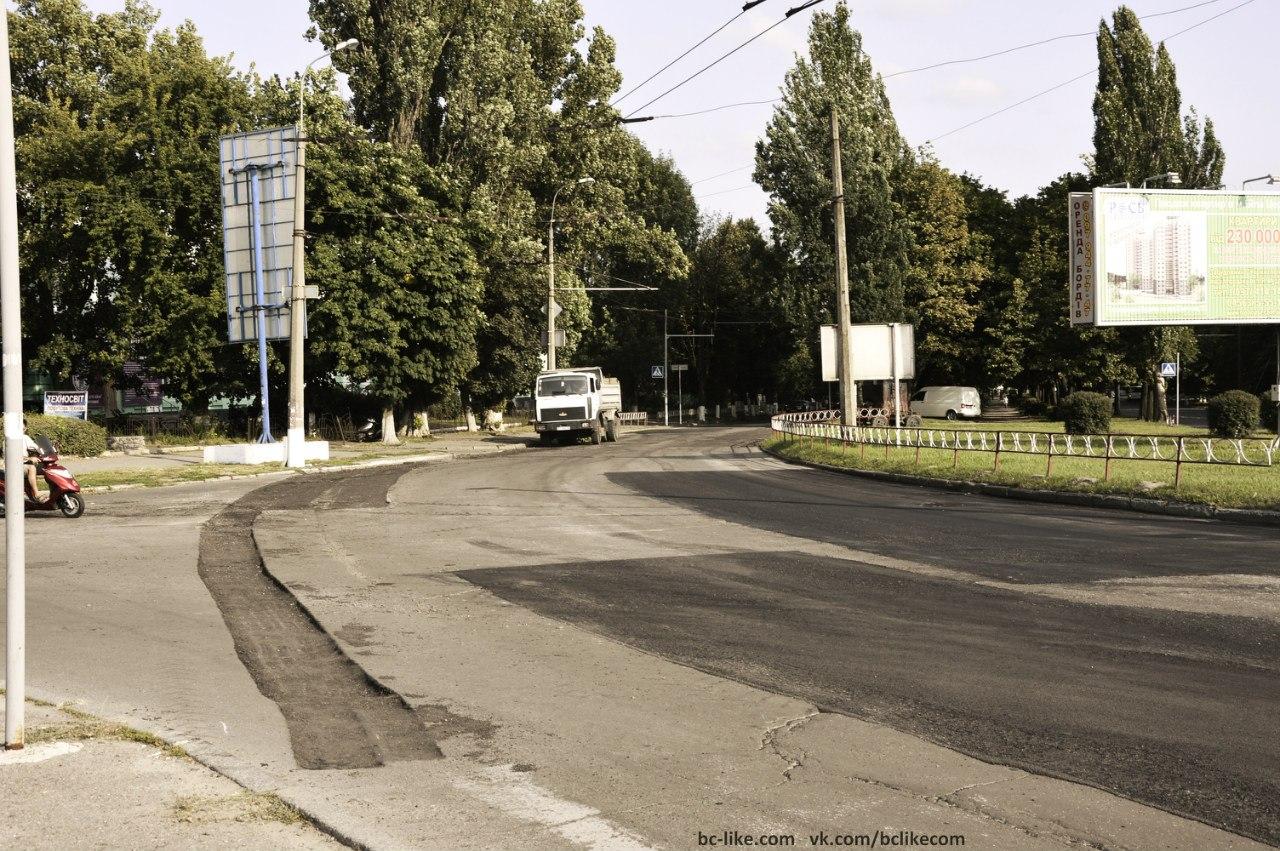 Авторьскі статті: На вокзальній  розпочато ремонт дороги