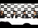 20110925 CNBLUE Last Indie Concert Press Conference