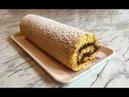 Простой Бисквитный Рулет с Вареньем Swiss Roll Recipe Пошаговый Рецепт Вкусно и Быстро