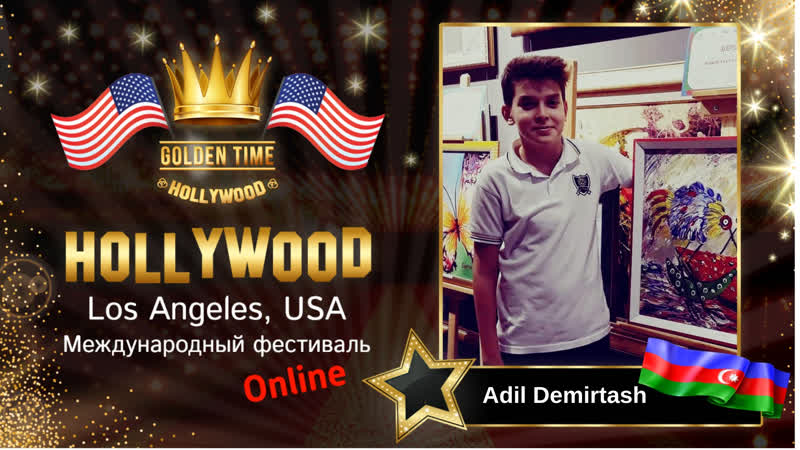 GTHO 3125 0008 Adil Demirtash Mayak akril holst 50×70 Golden Time Online Hollywood 2019