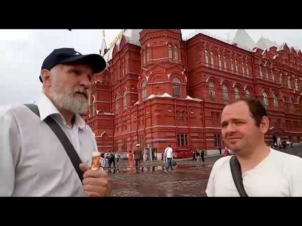 СТРИМ. 2019-05-23. НОД. Москва. Пикет и сбор подписей на Манежной площади.