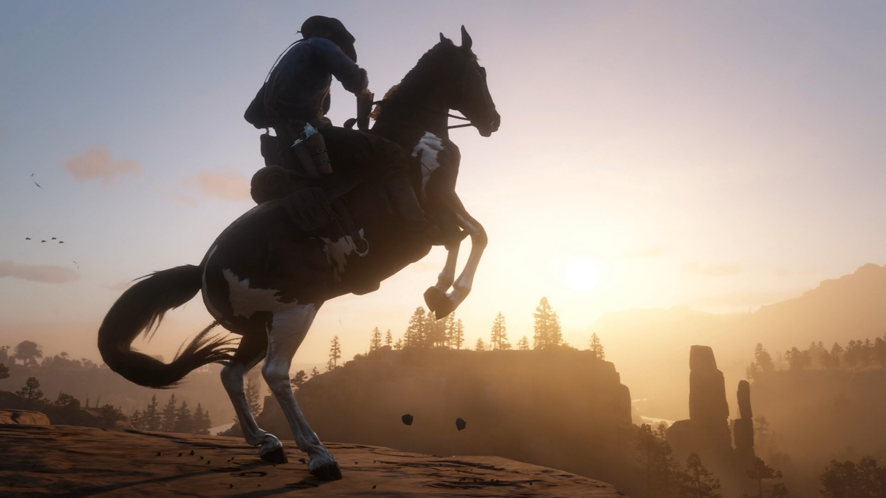 лошадь в Red Dead Redemption 2