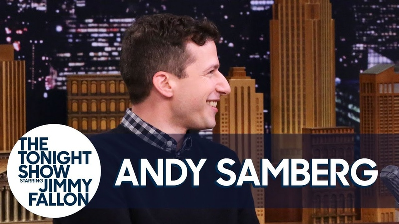 Lin Manuel Miranda Mark Hamill and Guardians of the Nine Nine Saved Andy Samberg's Show
