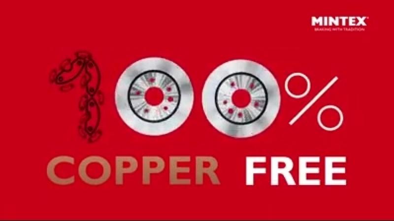 100% copper free