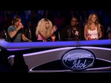 Nicki Minaj talks about Miley Cyrus on American Idol 2013 (Никки Менаж говорит про Майли Сайрус, Американский Идол 2013)