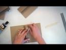 Мини альбом Rossi Belle. Как сделать миник своими руками - Скрапбукинг мастер-класс _ Aida Handmade ( 720 X 1280 ).mp4