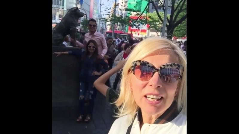 Алёна Свиридова в Японии (14.04.2018)