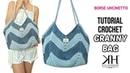 TUTORIAL BORSA UNCINETTO Granny Bag Crochet pattern ● Katy Handmade