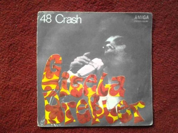 GISELA DRESSLER 48 Crash 1974 GLAM ROCK
