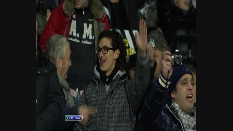 127 - 05.03.2011. Ювентус - Милан 0:1 - 1 тайм