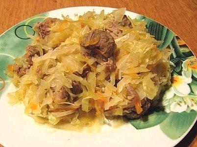 простой рецепт солянка из капусты
