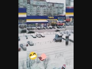 Голодные новосибирцы ринулись толпой в новую Ленту