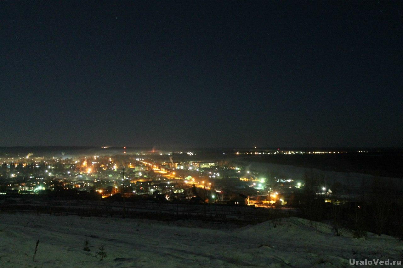 Ночной Красновишерск