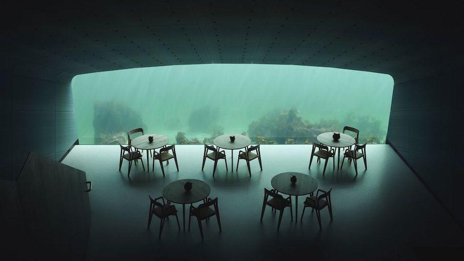 Under - первый в Европе подводный ресторан