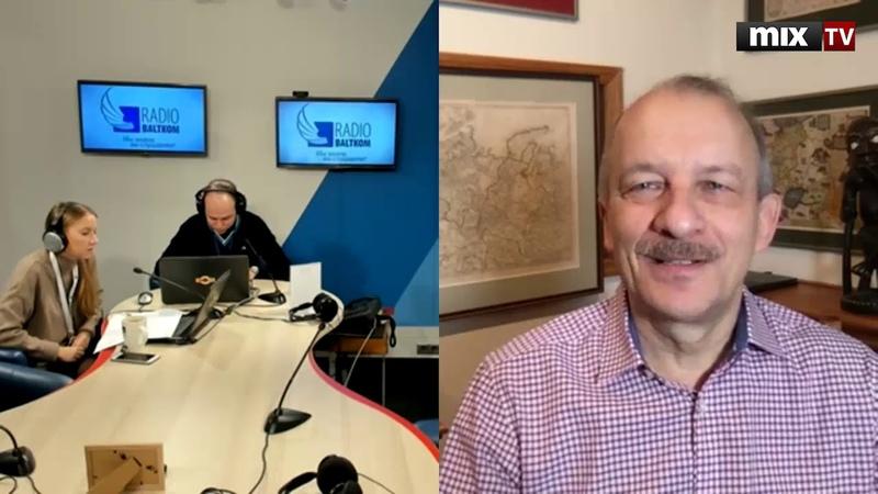 Сергей Алексашенко в программе Абонент доступен MIXTV