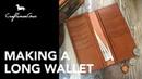 Making Leather Wallet Long Wallet Portrait LeatherAddict EP14