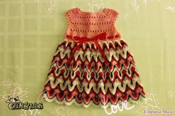 Платье на кроху (3 фото) - картинка