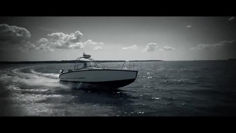 Алюминиевый катер XO 240 RS Open с подвесным мотором для моря.