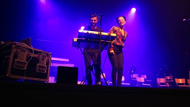 Madame Monsieur as Hooverphonic Support Act Live,22/04/2016 Partir - Le Forum - Liege BE With Me