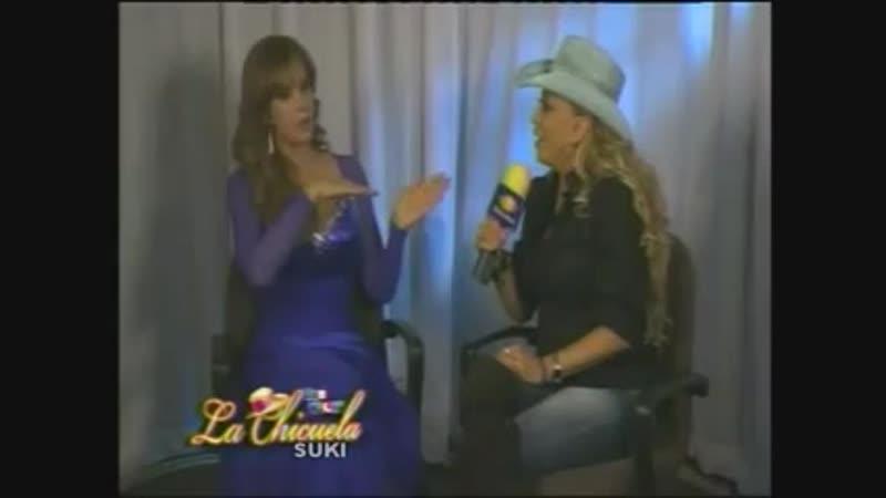 Lucía Méndez - Entrevista por Qué noche con la Chicuela part 2 (Sep. 2011)